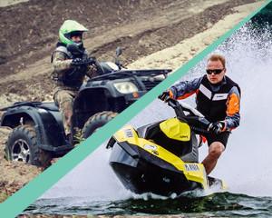 Wyprawy Incentive w Polsce – quady + skutery wodne