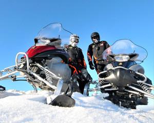 Wyprawy na skuterach śnieżnych